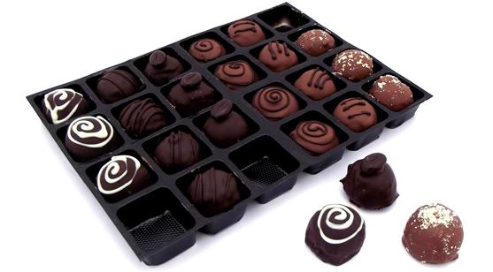 truffle selection choclae