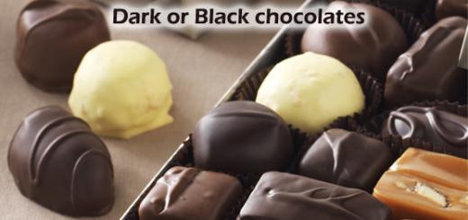 10_dark and black choclate